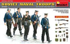 Mini Art Models 1/35th Scale WW2 Soviet Naval Troops Plastic Model Kit 35094 New