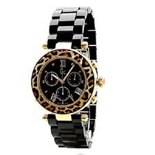 Guess collection reloj mujer x43011m2s diver chic leopardo cronometro