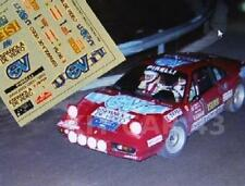 "DECAL CALCA 1/43 FERRARI 308 ""ESPAÑOLA DE VIDEO"" A. ZANINI RALLY OSONA 1984"