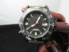 Pre Owned TIMEX  Expedition WR200M  Shock Resistant Date Light 43mm Watch