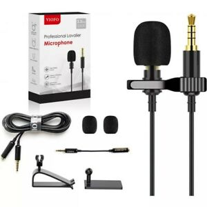 Mic for VIOFO A139, professional Lavalier microphone SMART PHONE PC LAPTOP