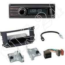 Caliber RMD212 Autoradio + Smart ForTwo(A/C-451) Blende schwarz + ISO Adapter