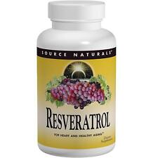 Resveratrol - 60 Tablets by Source Naturals - Antioxidant for Heart Health