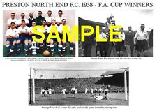 Preston NORTH End PNE 1938 F.A. CUP WINNERS MEMORABILIA