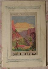 Tours in South Africa Sauth African Railways and harbourgs 1926
