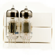 2x Russian 6H6P-I Power Tubes Schiit Valhalla 2 Upgrade 6N6P Matched Pair