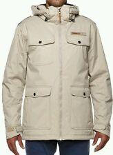 O'neill - Mens Chino Beige Fine Tune Jacket. Size:small BNWT
