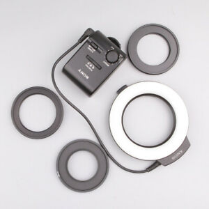 SONY HVL-RL1 LED Macro Photography Ring Light for 49mm 55mm 62mm A7M2 A7R2 RLAM