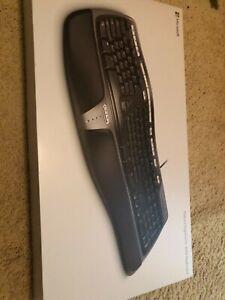 NEW MICROSOFT 4000 Natural Ergonomic USB WIRED English Keyboard KU-0462