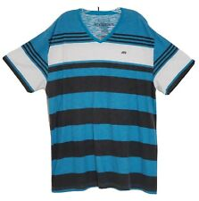 Ecko Unltd V-Neck T-Shirt Striped Size 3XL - XXXL