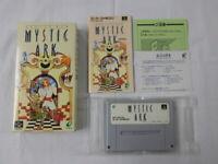 X1310 Nintendo Super Famicom Mystic Ark Japan SFC SNES w/box