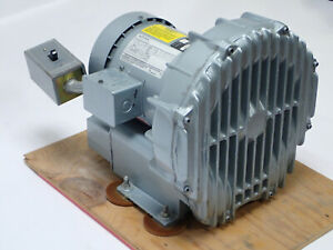 GAST REGENAIR R4310B-1 REGENERATIVE BLOWER 92 CFM w EMERSON 1HP 575V 3PH TESTED!