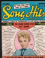 Song Hits Magazine November 1957 Janice Harper Tony Bennett Pat Boone Doris Day