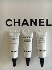 Lot of 3 Chanel Hydra Beauty Micro Gel Yeux Hydration Eye Gel 3ml / 0.1oz each