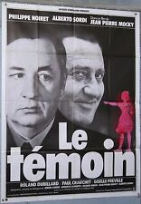AFFICHE FILM LE TEMOIN JEAN PIERRE MOCKY PHILIPPE NOIRET ALBERTO SORDI cir 1978