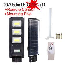 New listing 90W Led Solar Dimmable Wall Street Light Pir Motion Sensor Outdoor Garden Lamp