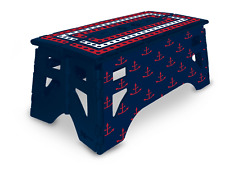 eXpace 13 Inch Wide Heavy Duty Portable Folding Step Stool, Patriotic
