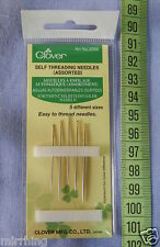Needles - Self Threading (5 sizes)  by Clover