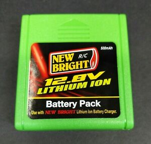12.8V 500mAh New Bright Rechargeable Battery Pack RC Lithium Ion Bronco