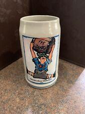 Oktoberfest München 1985 Beer Stein Mug 1-L Fritz Dommel 175th Aviv.  Signed