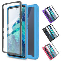 For Samsung Galaxy S20 FE 5G,Fan Edition Case Cover W/ Built-in Screen Protector