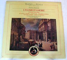 L'ELISIR D'AMORE (SELEZIONE) - CARTERI, ALVA, PANERAI - SERAFIN - LP NUOVO UNPL.