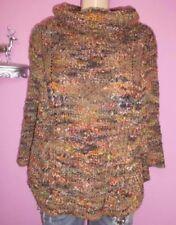 Damen-Pullover & -Strickware im Ponchos-Stil aus Wolle Herbst