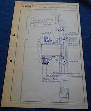 Ferrari 330 GT Circolare Tecnica #62 Blueprint 1965 no brochure book buch press