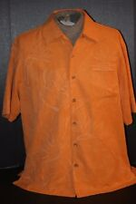 Jamaica Jaxx Authentic Island Style Mens (M) 100% Silk Copyrighted Island Shirt