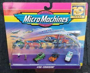 Micro Machines #28 Cruisin Collection Vehicle Set Galoob Vintage 1996 VHTF MISB