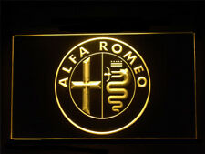 J537Y Alfa Romeo Repair Service Parts For Garage Display Decor Light Sign