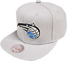 Mitchell & Ness Orlando Magic Wool Solid Gris NL99Z Snapback Cap Basecap NBA