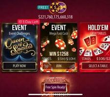 100 Million Zynga Poker Chips (READ DESCRIPTION) 100M