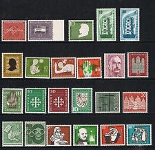 Germany 1956 complete yearset nice MNH