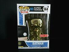Funko Pop Gold Chrome Batman Target Exclusive POP & T-Shirt X-Large