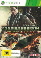 Ace Combat Assault Horizon Limited Edition, Microsoft Xbox 360, Used
