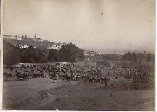 c.1880's PHOTO  - MOROCCO TANGIER MARKET