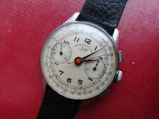 Vintage old SELZA chronograph swiss watch suisse NEW pics added
