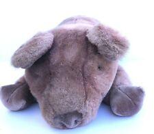 "Gund Piggaletto The Pig Plush Animal1984 Collectors Classic Large 24"" Mauve Vtg"