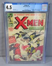 THE X-MEN #1 First appearance & Origin CGC 4.5 VG+ Marvel Comics 1963 Uncanny