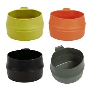 Wildo Fold-A-Cup Faltbecher Tasse Camping Geschirr Kunststoff Outdoor faltbar