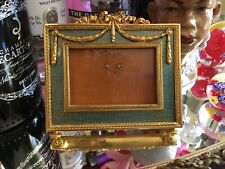 Pre- Owned Faberge Enamel Guilloche Picture/Photo Frame