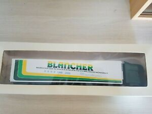 ELIGOR SCANIA R TOPLINE  SEMI FRIGO ECH 1/43 TRANSPORTS BLANCHER REF 113446