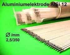 Aluminium Elektrode - Schweißelektrode - Stabelektroden AlSi 12 Ø  2,5x350