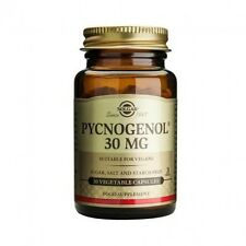 Solgar Pycnogenol 30 mg Vegetable Capsules 30