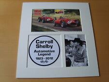 Carroll Shelby Genuine Autograph - UACC / AFTAL.