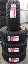 4 NEW 33X12.50R18 ATLAS PREDATOR  MUD TERRAIN M/T Tires MT 33125018