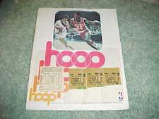1977 Indiana Pacers v Milwaukee Bucks Basketball Program 1/2 with tickets