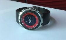 Concord Saratoga Men's 14.P7.1890 Stainless Steel Red Dial Quartz Swiss Watch