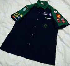 Australia Boy Scouts Adult Uniform Shirt Youth Official w/Patch Sleeve Size 16